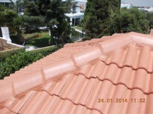 Tile Roof Hip