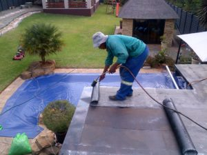 (Waterproofing) Apply 4mm Torch On Waterproofing - 3
